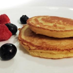 Coconut Flour Pancakes!  Yum!