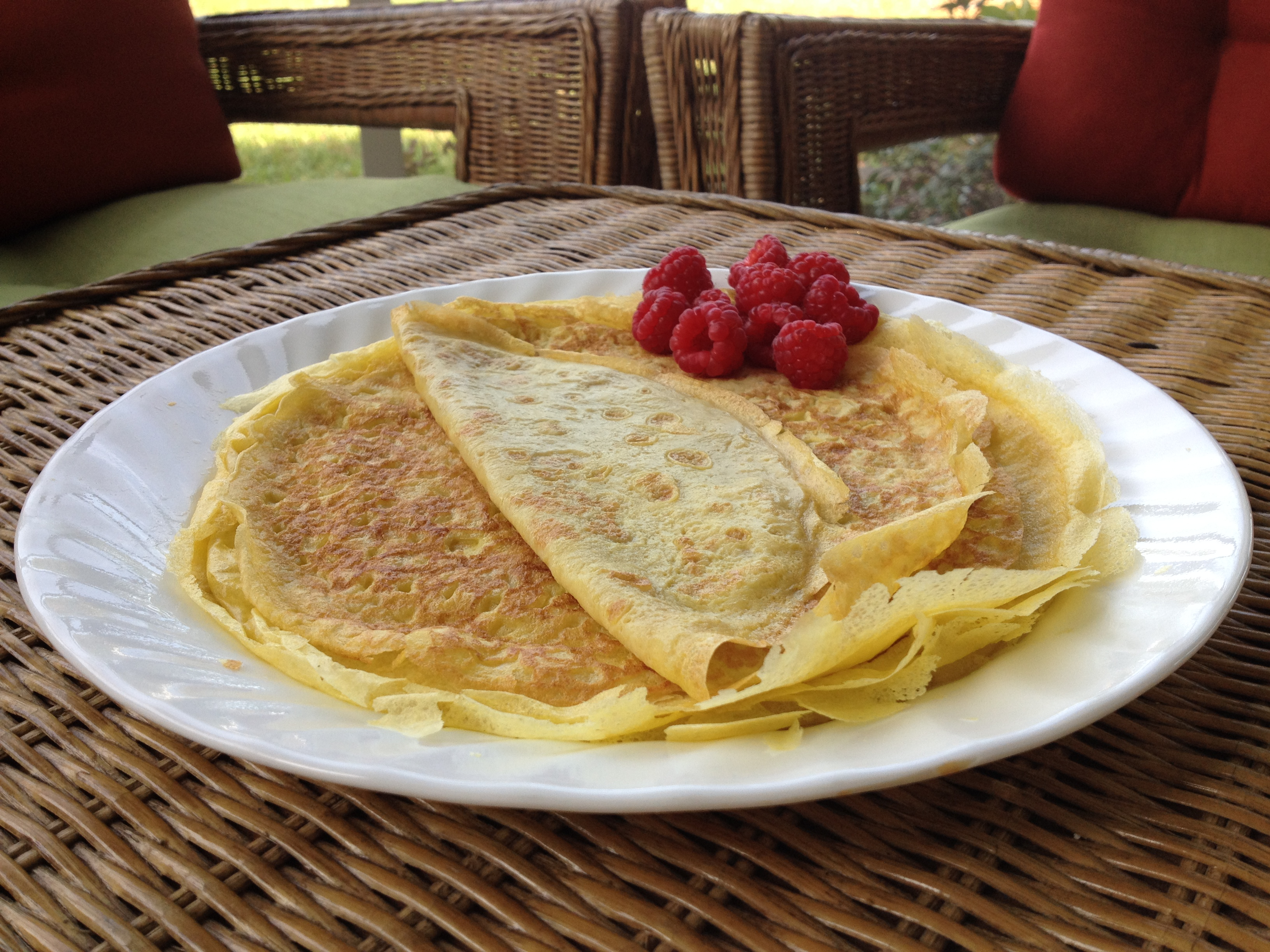 Arrowroot Flour Crepes – Family Fav!!!